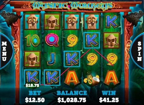 Игровые автоматы на деньги с выводом денег - Mystic Monkeys