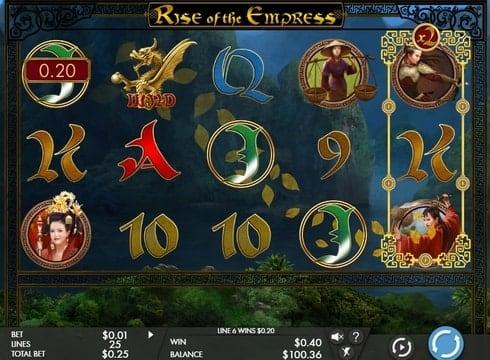 Игровые автоматы онлайн на деньги - Rise of the Empress