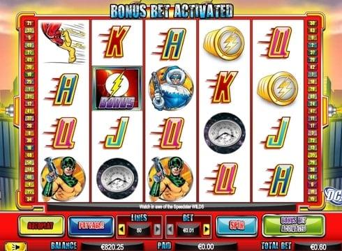 Игровые автоматы на реальные деньги - The Flash Velocity