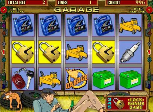 Игровые автоматы на реальные деньги с выводом - Garage