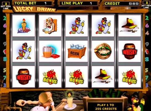 Игровые автоматы на реальные деньги с выводом - Lucky Drink