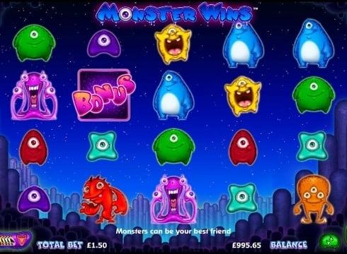 Игровые автоматы онлайн на деньги - Monster Wins