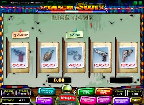 Игровой автомат Police Story – играть на реальные деньги
