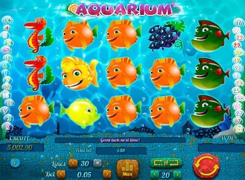 Aquarium аквариум игровой автомат валюту онлайн мир