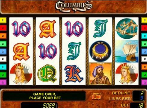 Игровые автоматы онлайн на реальные деньги - Columbus