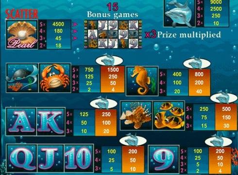 Игровой автомат Dolphin's Pearl — играть на деньги онлайн