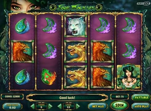 Игровые автоматы на реальные деньги - Jade Magician