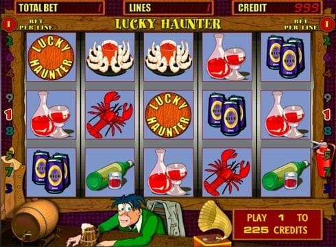 Игровые автоматы на реальные деньги – Lucky Haunter