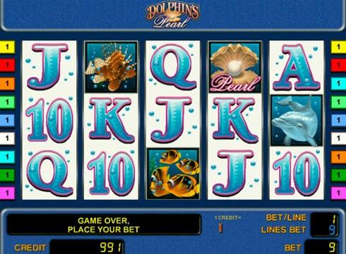 Игровые автоматы на реальные деньги - Dolphin's Pearl