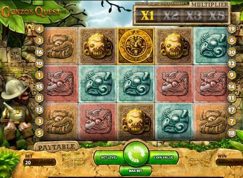 Игровые автоматы на деньги - Gonzo's Quest