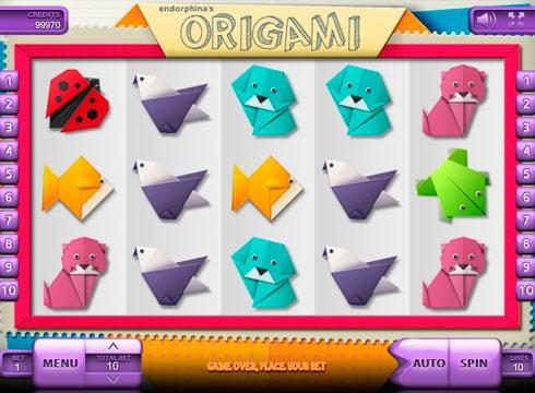 Игровые автоматы на деньги с выводом денег - Origami