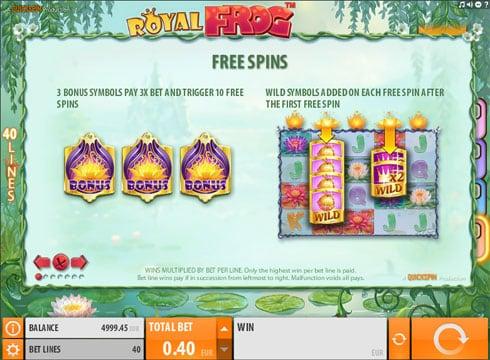 Играть в автоматы Royal Frog на реальные деньги онлайн