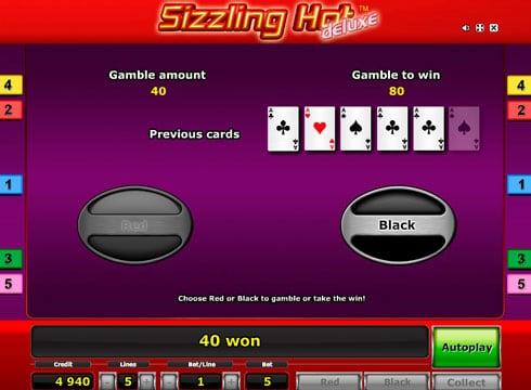 Игровой автомат Sizzling Hot Deluxe онлайн на деньги