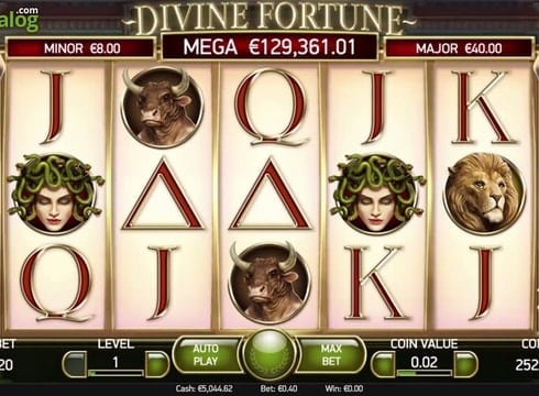 Игровые автоматы играть на деньги - Divine Fortune