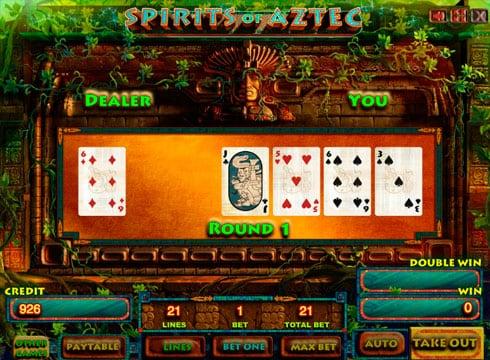 Играть в автомат Spirits of Aztec HD на деньги с выплатами