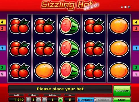 Игровые автоматы на реальные деньги – Sizzling Hot Deluxe